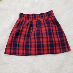 GAP Kids Tartan Mini Skirt